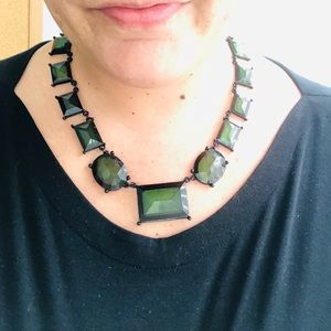 Green & Black Necklace